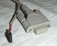 Простой кабель СОМ-порта (Rs232)
