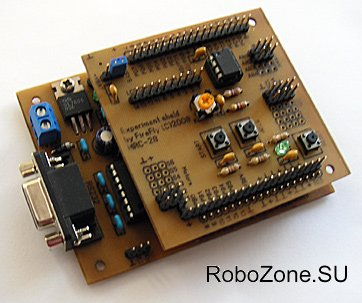 Плата модуля на основной плате контроллера MRC28