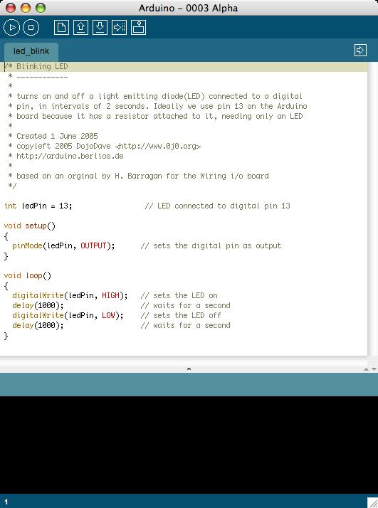 Открытая среда программирования Arduino