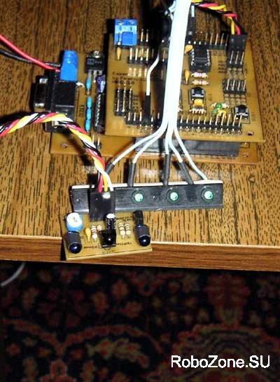 Модуль ИК-датчика на основе