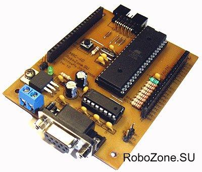 Универсальный робо-контроллер MRC-40 (ATmega 16/32/644)