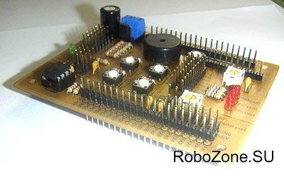 Экспериментальный модуль для универсального контроллера MRC40