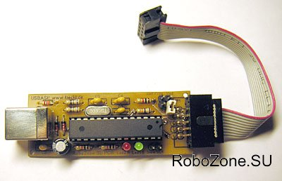 Простой USB программатор для AVR - USBasp