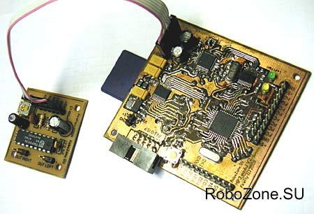 Звуковой модуль для воспроизведения MP3 файлов на базе ATmega32 и VS1011.