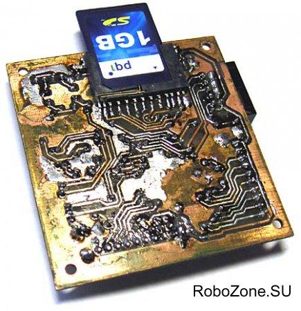 Звуковой модуль для воспроизведения MP3 файлов на базе ATmega32 и VS1011