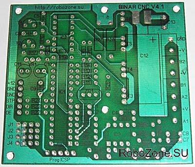 Печатная плата контроллера промышленного изготовления