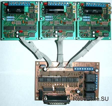 Электроника для станка ЧПУ в сборе