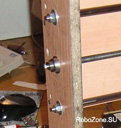 Стальной корпус подшипника с винтом предварительного поджима ходового винта