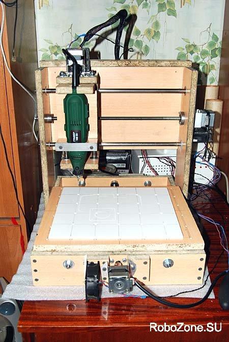 3-х осевой ЧПУ(CNC) станок из