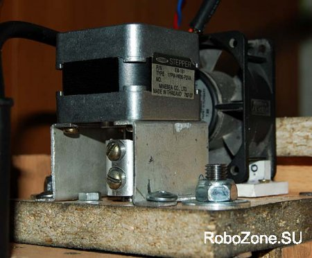 3-х осевой ЧПУ(CNC) станок из подручных материалов (рабочий макет).