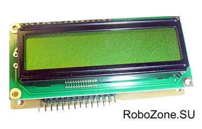 LCD Контроллер на базе ATTINY2313 (WH1602B WINSTAR)