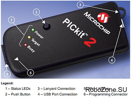 PICkit2 от Microchip Technology Inc.