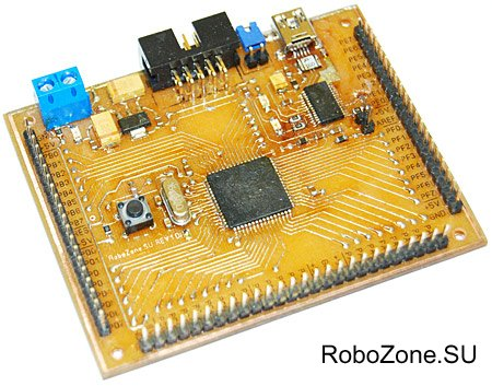 Универсальный контроллер (ATmega128) под Wiring