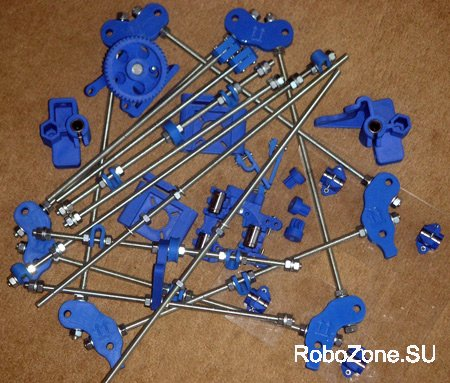 Набор механики для сборки 3D принтера Reprap Mendel Prusa